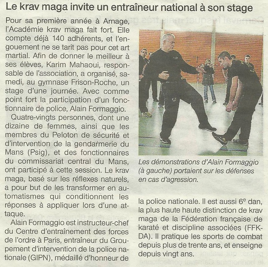 Ouest France - 15 03 2015